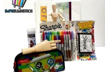 Colores Magicolor x 24 más Sharpie x 24 por $85.000