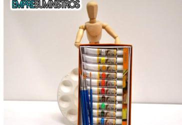 Caja óleos Maries más kit de pinceles por solo $26.000