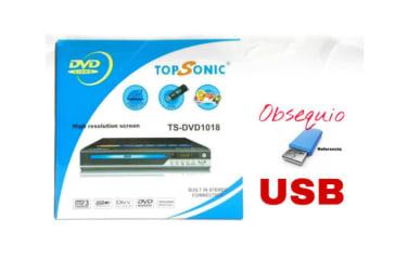 Reproductor DVD  topsonic por solo $89.900