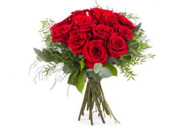 Ramo de Primer Amor con rosas rojas por $30.000