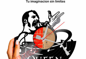 Disco diseño de Queen por $35.000