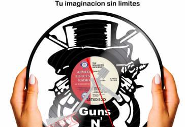 Reloj con diseño de Guns N´ Roses por $35.000