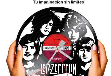 Led Zeppelin disco reloj por solo $35.000