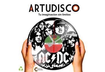 Disco decorativo de bandas musicales por $35.000