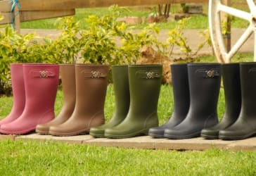 Botas de dama  para lluvia por tan solo $50.000