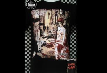 Dos camisetas de Cannibal Corpse Gallery Of Suicide por $50.000