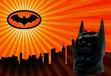 Matera pequeña cabeza de Batman por solo $15.000