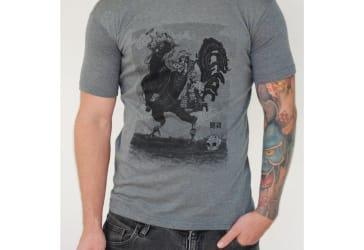 4 camisetas estampadas para hombre en $59.000
