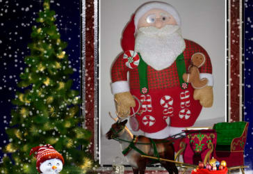 Papá Noel borrachito para decorar por solo $50.000