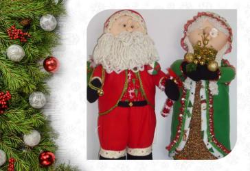 Mamá y papá Noel por solo $100.000 cada uno