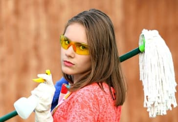 Servicio de limpieza final de obra por $72.000