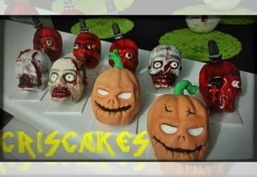 Tortas personales para Halloween por solo $10.000 pagando con Mastercard