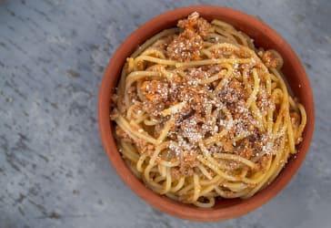Spaguetti ranchero por solo $13.000