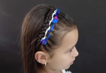 Peinado de niña por solo $10.000
