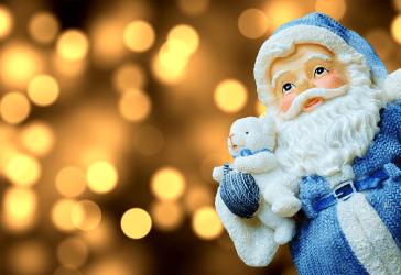 Papá  Noel en cerámica por solo $50.000