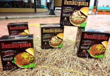 Carne de hamburguesa vegana por $13.900