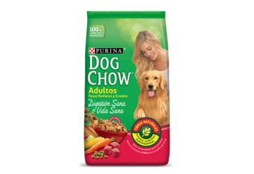 Concentrado Dog Chow para adultos $140.000