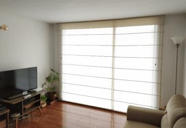 Panel japonés, screen o cenefa en tela por $100.000