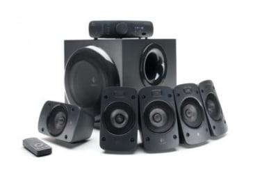 Combo de parlantes 5.1 Logitech Z906 500w por $999.000