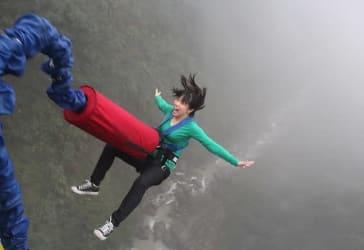 Disfruta de rafting + salto al vacío + canyoning por $89.000