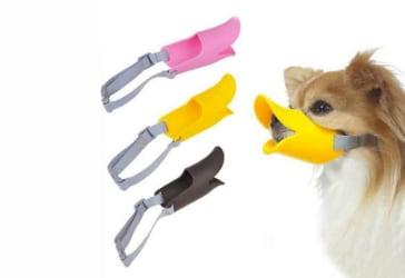 Bozales para perros con diseño de pato por $17.500