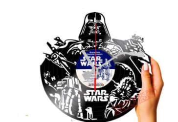 Reloj en disco con diseño personalizado por $35.000