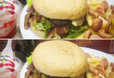 Súper combo de hamburguesa pagas 1 llevas 2 por $20.000