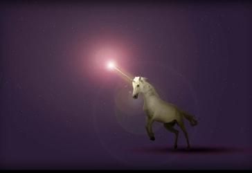 Vestidos de unicornio para niña por $45.000