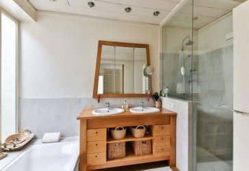 División de baño con sistema de Alan por $496.000