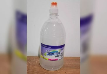 1 litro de gel Antibacterial sin olor por solo $24.990