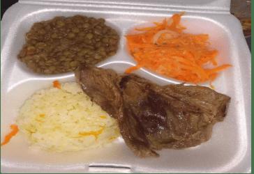 Almuerzo casero por solo $8.500