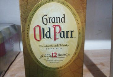 Whisky Grand Old Parr 750 Ml $121.000