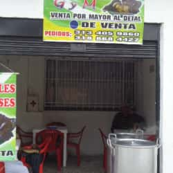 Tamales Tolimenses G y M en Bogotá