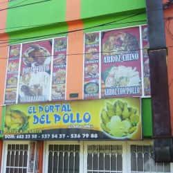 El Portal del Pollo en Bogotá