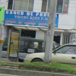 Banco de Prueba Tecni Ejes F.H. en Bogotá