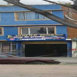 Banco de Pruebas Suspensiones en Bogotá