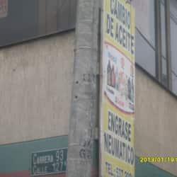 Cambio de Aceite Calle 93A  en Bogotá