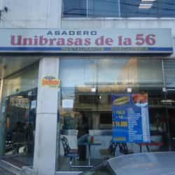 Asadero Unibrasas de la 56 en Bogotá