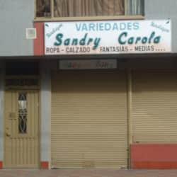 Variedades Sandry Carola en Bogotá