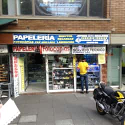 Papelería Carrera 15 con 79 en Bogotá