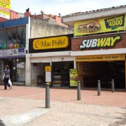 Mac Pollo Carrera 19 con 116 en Bogotá