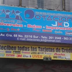 Dotaciones JKD en Bogotá