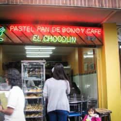 Pastel Pan de Bono y Café El Chocolin en Bogotá