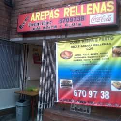 Arepas Rellenas en Bogotá