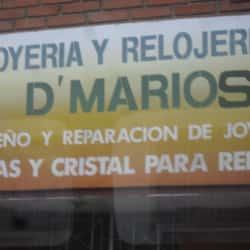 Joyería y Relojería D'Marios en Bogotá