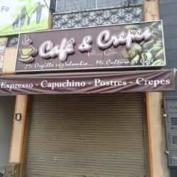 Café y Crepes Calle 8 en Bogotá