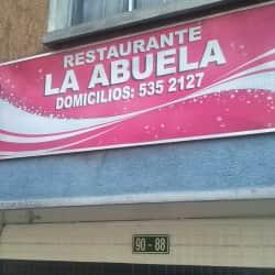 Restaurante La Abuela en Bogotá