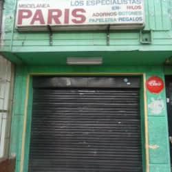 Miscelánea París en Bogotá