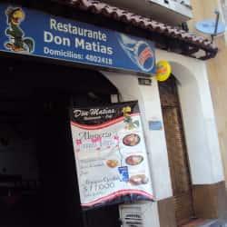 Restaurante Don Matías en Bogotá