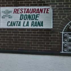 Restaurante Donde Canta La Rana en Bogotá